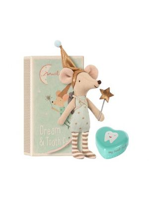Maileg Tooth fairy big brother w. metal box