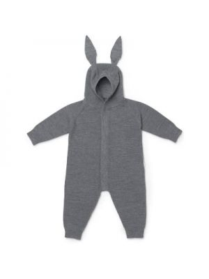Liewood Linus Knit heldragt, Rabbit Grey