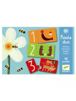 Djeco Puzzle duo, tal