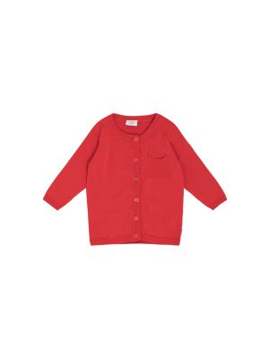 Hust & Claire Cammi Cardigan, Poppy Red