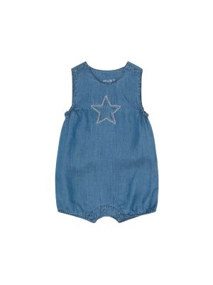 Hust & Claire Mamie Overalls, Washed denim