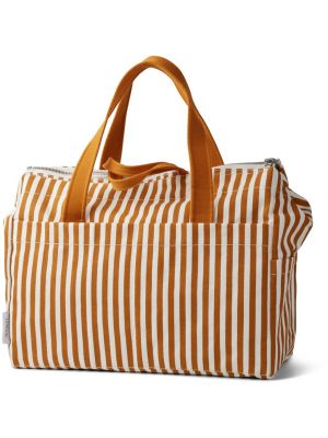 Liewood Melvin Mommy Bag, Stripe Mustard/Creme