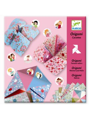 Djeco Origami Fortune Tellers Flowers