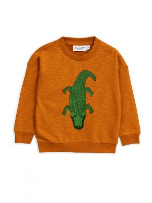MIni Rodini Croco Sweatshirt, Brown